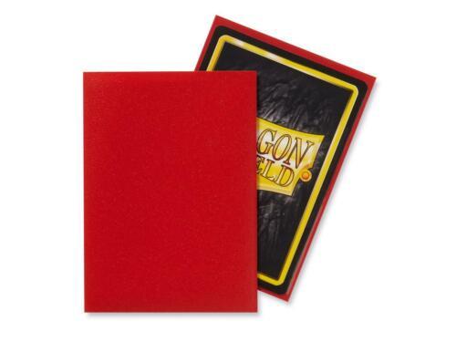 Dragon Shield Sleeves Matte Crimson NEW 100