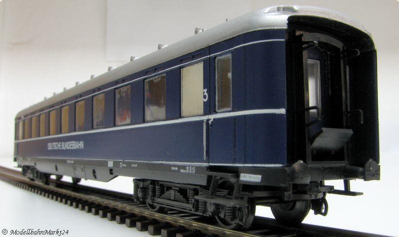 Liliput classe DB compartimento auto 3. classe Liliput epoca III-GUASTO 1333a4