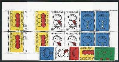 Vorr Het Kind! Angemessen Niederlande Aus 1969 ** Postfrisch Minr.928-932 Block 8