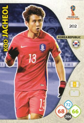 Panini Adrenalyn XL FIFA World Cup 2018 Russia Choose your KOREA team cards