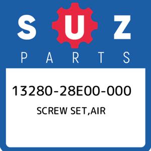 13280-28E00-000-Suzuki-Screw-set-air-1328028E00000-New-Genuine-OEM-Part