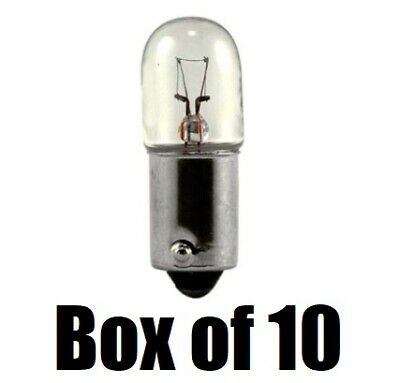 Lot of 10 Eiko PR6 Miniature Lamps Flashlight Bulbs PR-6