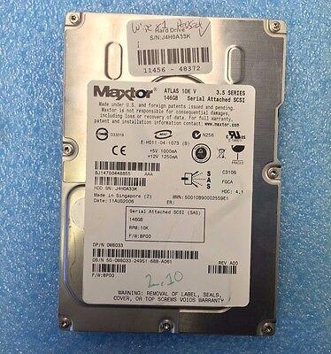 "Maxtor Atlas 10K V 3.5 Series 146GB 8J147S0448855 3.5/"" HDD Hard Drive SAS 10K"