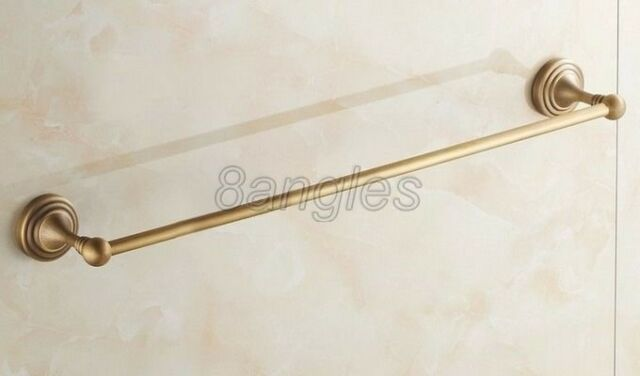 Antique Brass Wall Mounted Bathroom Single Towel Holders 8ba032