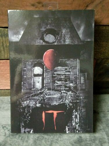 """NECA Pennywise-IT 2017 MOVIE bene Casa Ultimate 7/"""" Action Figure Nuovo di zecca con scatola"""