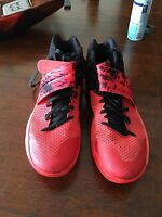 Nike Kyrie 2 Inferno Bright Crimson/Atomic Orange-Black Red 819583-680 Size 14