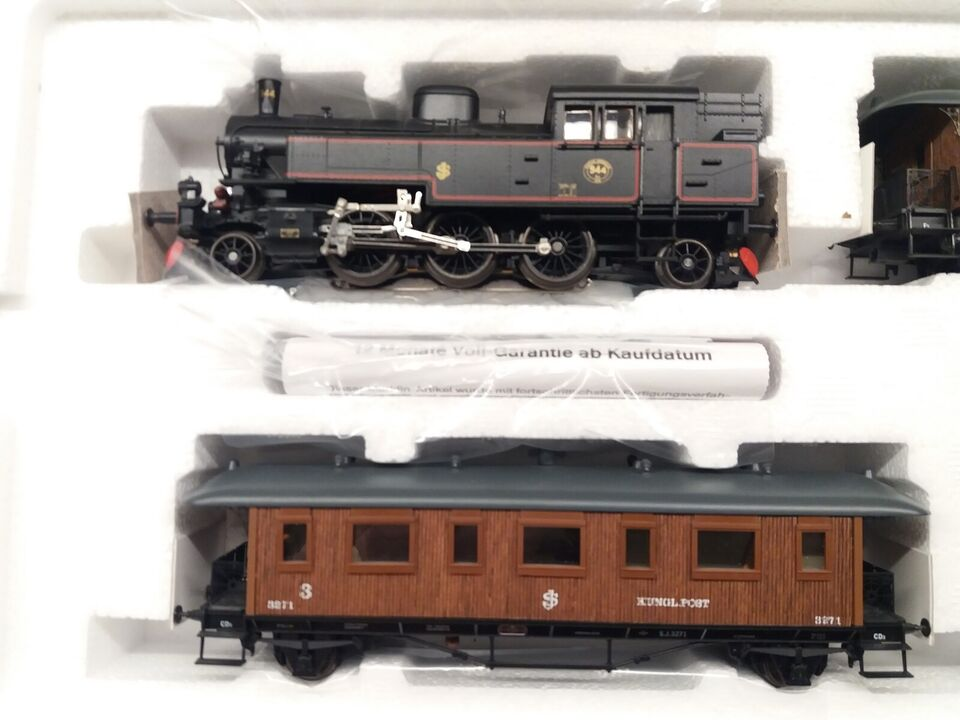 Modeltog, Märklin 28703 SJ damplokomotiv Svensk