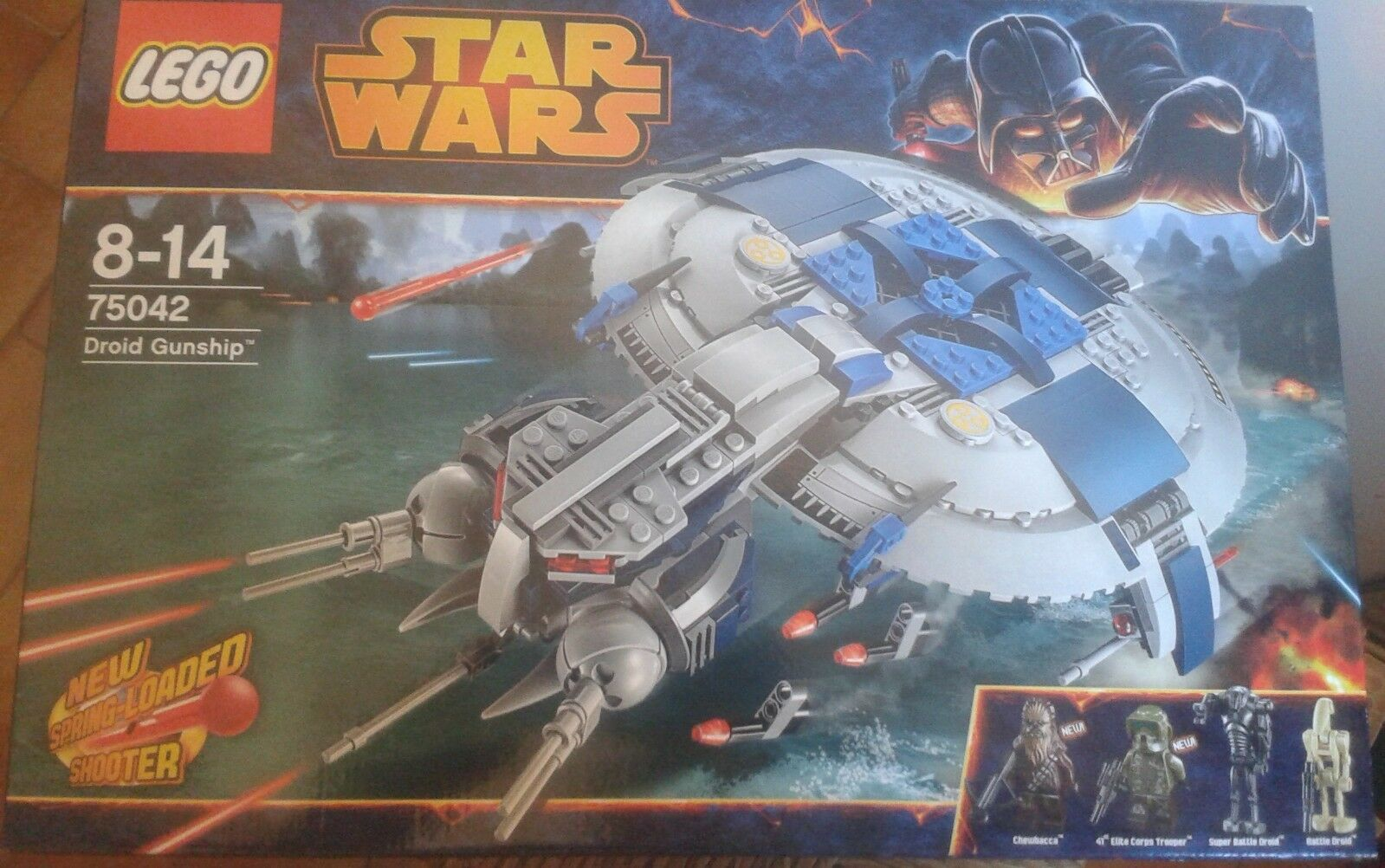 LEGO STAR WARS- 75042-DROID GUNSHIP-NEUF SCELLE-8 14 ANS-TRES SYMPA