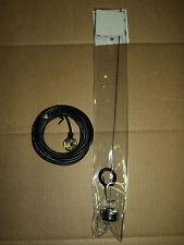 New UHF or VHF NMO ANTENNA KIT and 17' ANTENNA CABLE w/ MINI U UHF For  MOTOROLA