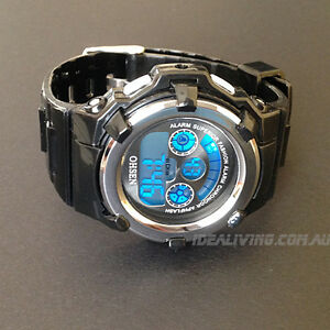 Digital-sport-watch-for-kids-boys-girls-Black-OHSEN-Cool-and-easy-to-tell-time