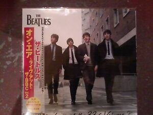 The-Beatles-Live-at-the-BBC-Vol-2-Rare-Japanese-Edition-3lp-New-and-Sealed