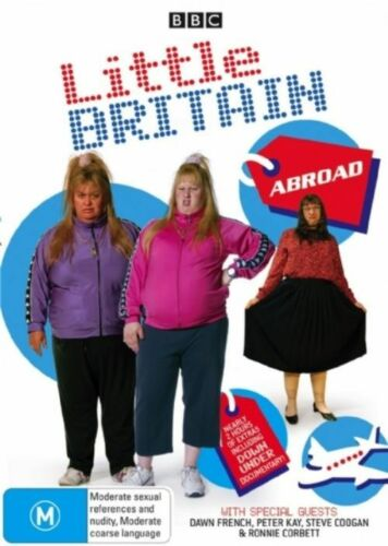 1 of 1 - Little Britain - Abroad (DVD, 2007) Region 4 Comedy DVD Rated M Used Like NEW