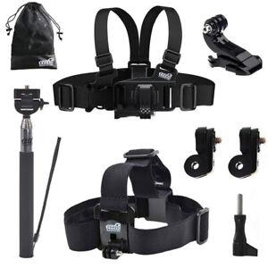 Chest-Harness-Head-Strap-Selfie-Pole-Mount-for-VTech-Kidizoom-Action-Cam-180