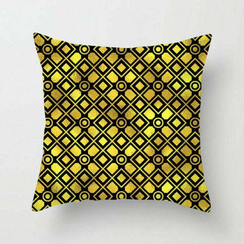 Polyester Pillow Case Sofa Car Waist Throw Cushion Cover Home Decoration