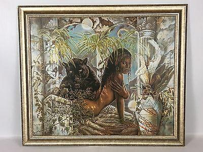 Chardonn African American Art Print 8x10 Mother and Toddler Jonnie K.C