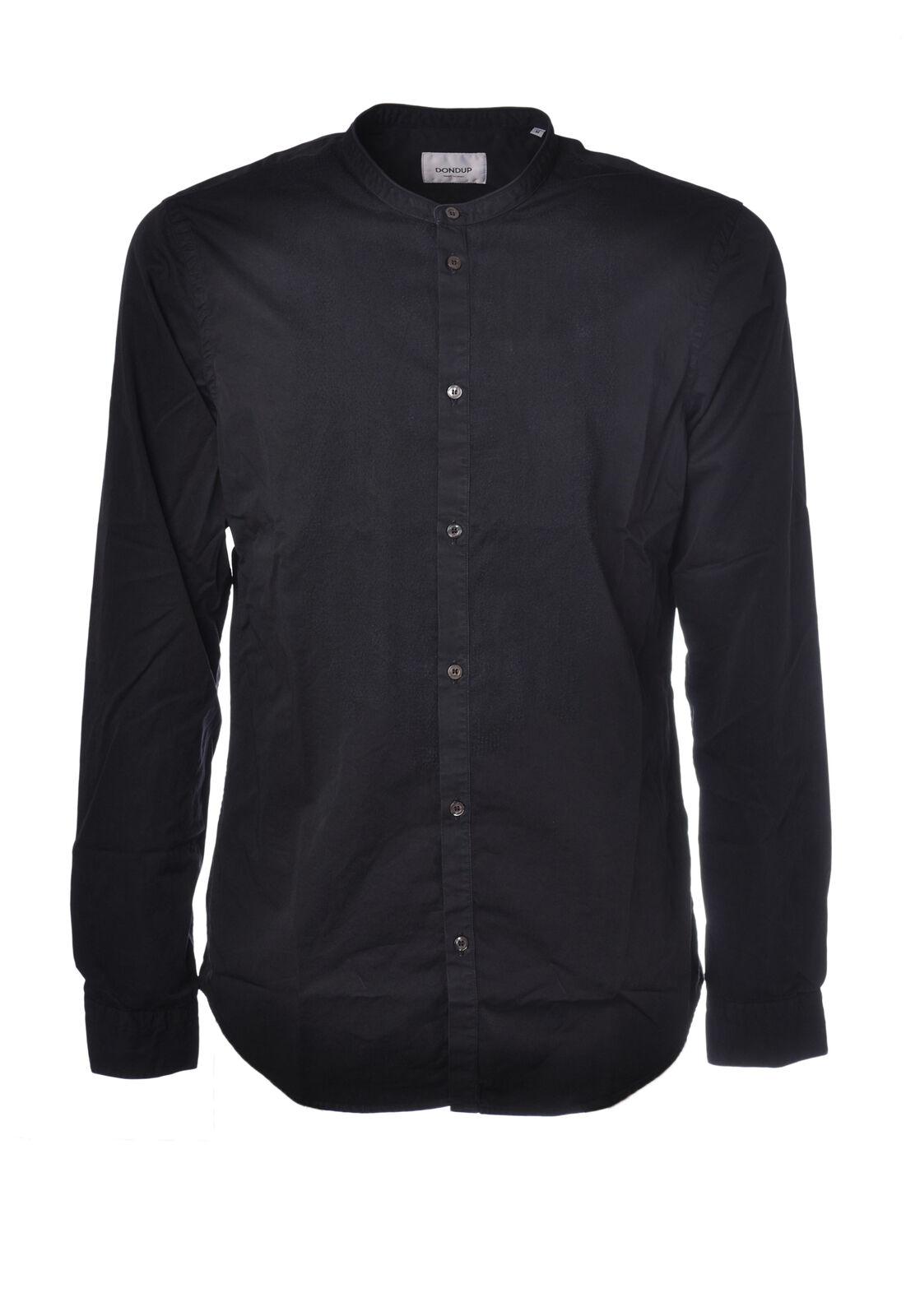 Dondup - Shirts, Shirts, Korean - Man - Blau - 5049821G184203