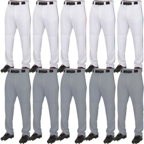 Rawlings Plated Piped Adult Men/'s Baseball 100/% Polyester Pant PRO150P