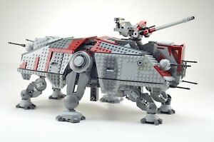 Details About Instructions For Lego At Te Custom Moc Instructions Clone Wars Star Wars