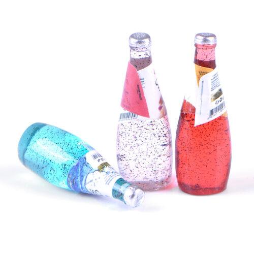 5Pcs 1//12 Miniature food mini fruit drink model for dollhouse kitchen toy XR