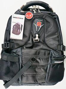 """17/"""" Inch Laptop Backpack Tablet Safe Durable Scan Smart Black"""