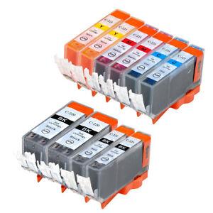 10-NON-OEM-INK-CARTRIDGE-CANON-PGI-220-CLI-221-PIXMA-MX860-MP560-IP4700-MP640