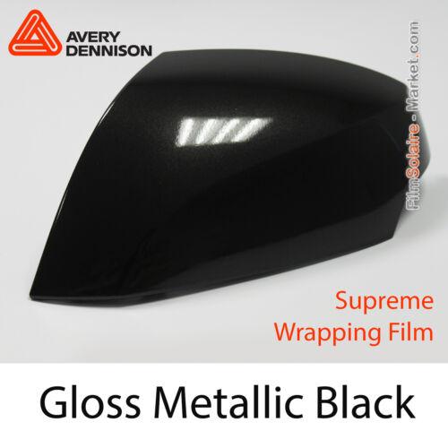 Avery Dennison Wrap CB1600001 Échantillons FILM Gloss Metallic Black
