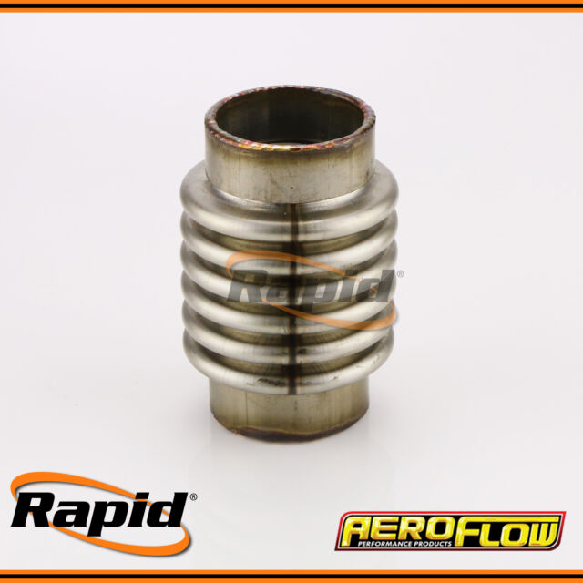 "Stainless Steel Flex Joint 1.5"" O.D x 4"" Long Aeroflow AF9500-1500"