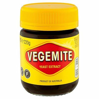 Kraft Vegemite Yeast Extract  220g - Sold Worldwide from UK