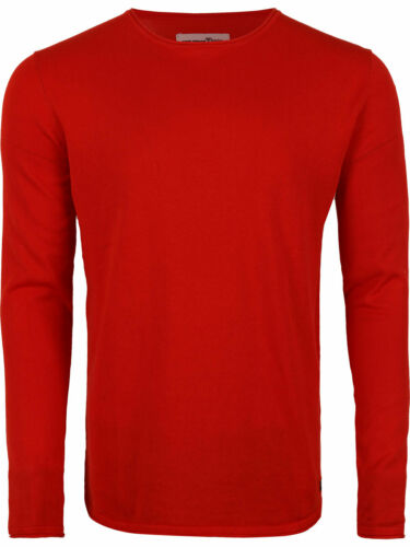 Tom Tailor Denim Hommes Col Rond Tricot Pull Regular chiné Crew S M L XL