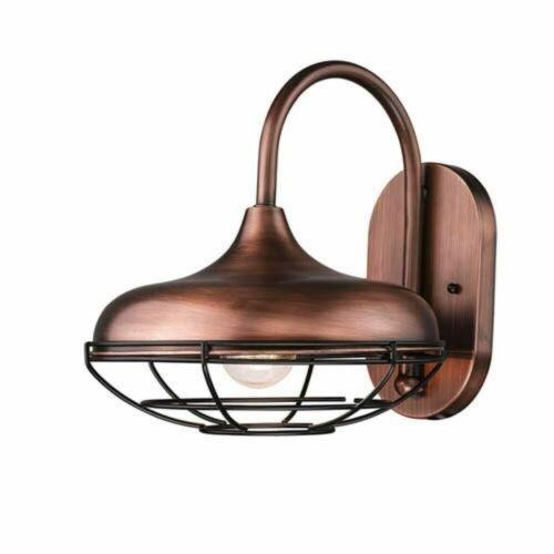 copper finish New Millennium Lighting 5440NC R Series outdoor coach light