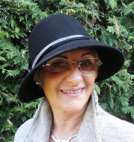 Damen Hut Wollhut Farbauswahl Damenhüte Wollhüte Anlasshüte Mütze Winter Herbst