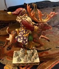 Kindly Kris Kringle Jim Shore Heartwood Creek Regal Santa With Bag 2014