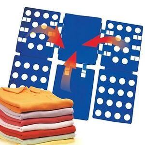New-Easy-T-shirt-Folder-Clothes-Folding-Board-Flip-Adult-Laundry-Organizer