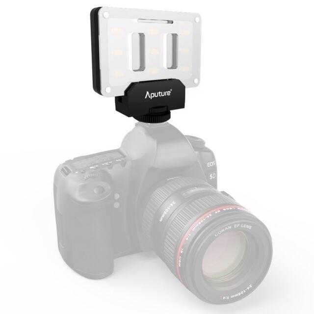 APUTURE AMARAN al-m9 MINI ILLUMINATORE LED e  DSLR video & Fotografia 900 LUX