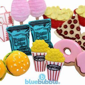 Bluebubble-AMERICAN-DINER-Earrings-Gift-Box-Funky-Retro-Novelty-Junk-Food-Xmas