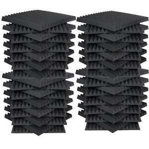48-Pack-Foam-Acoustic-Panels-Studio-Soundproofing-Foam-Wedge-tiles-1-034-x12-034-x12-034