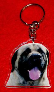 porte-cles-chien-mastiff-2-dog-keychain-llavero-perro-schlusselring-hund
