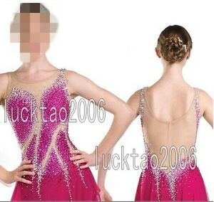 2018 new style COMPETITION ICE FIGURE SKATING DRESS For Adults or Girls