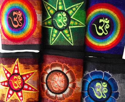 Portmonnaie Geldbörse Nepal Goa Wallet Psy Trance Geldbeutel Om