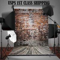 Photography Backdrop Abstract Black Grey Retro Studio Photo Props 5x7ft Lgc22
