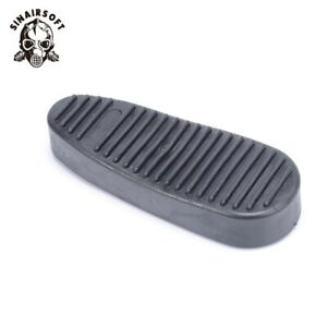 Rubber-Buttpad-6-Position-Butt-Stock-Gear-Ribbed-Slip-On-Recoil-Combat-Butt-Pad