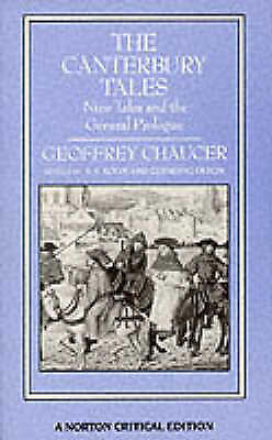 The Canterbury Tales (Norton Critical Editions), Chaucer, Used; Good Book