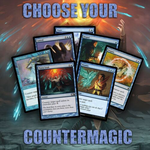 Choose Your Counterspell Cards - Modern / EDH / Cube - MTG - Buy 2 Get 1 Free!