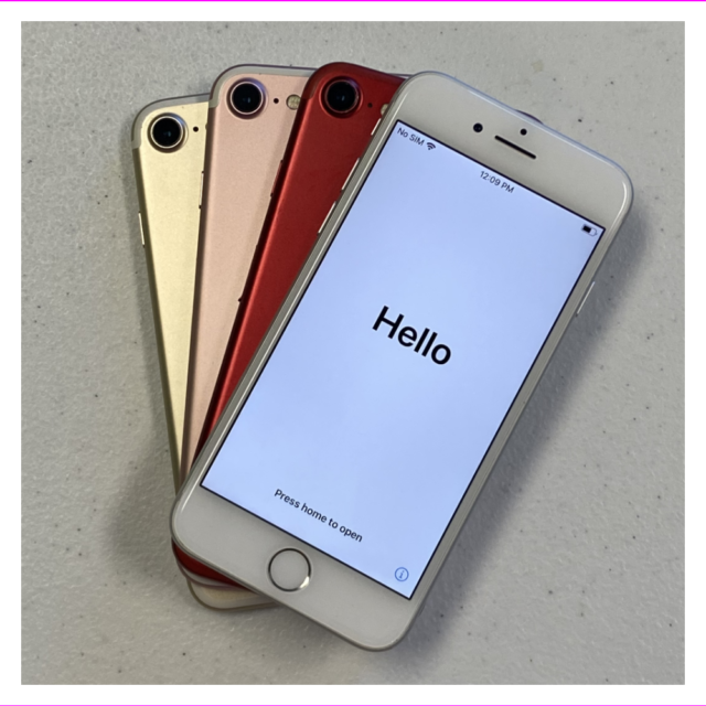 Apple iPhone 7 - 128GB - All Colors - GSM Unlocked - Good Condition