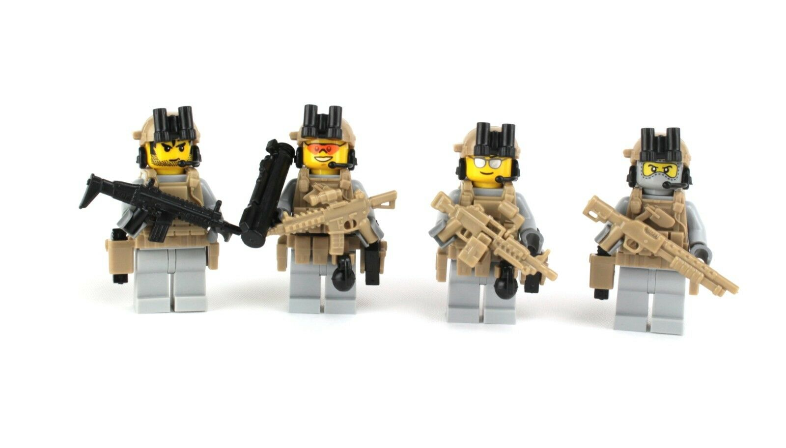 US Army Rangers Special Forces Soldiers (S35) (S35) (S35) made w  LEGO® minifigures 568766