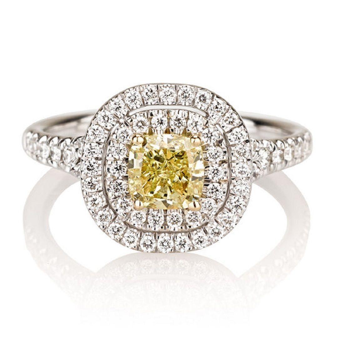 Intelligent 7mm Platinum Plated Silver 1.5ct Cz Half Bezel Wedding Engagement Ring Size8 Engagement & Wedding Jewelry & Watches