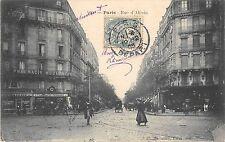 CPA 75 PARIS 14e PARIS RUE D'ALESIA