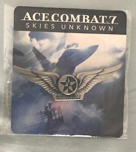 Ace Combat 7 Skies Unknown Pin. Preorder Bonus