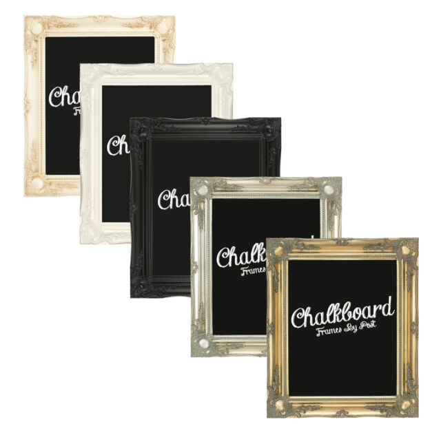 3 Inch Swept Framed Chalkboards in Various Colours and Sizes Free P&P 3INCH-CB