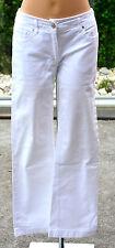 MAXMARA -Très joli pantalon blanc STRAIGHT FIT - taille 36 - EXCELLENT ÉTAT